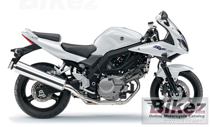 Big Suzuki sv650s picture and wallpaper from Bikez.com