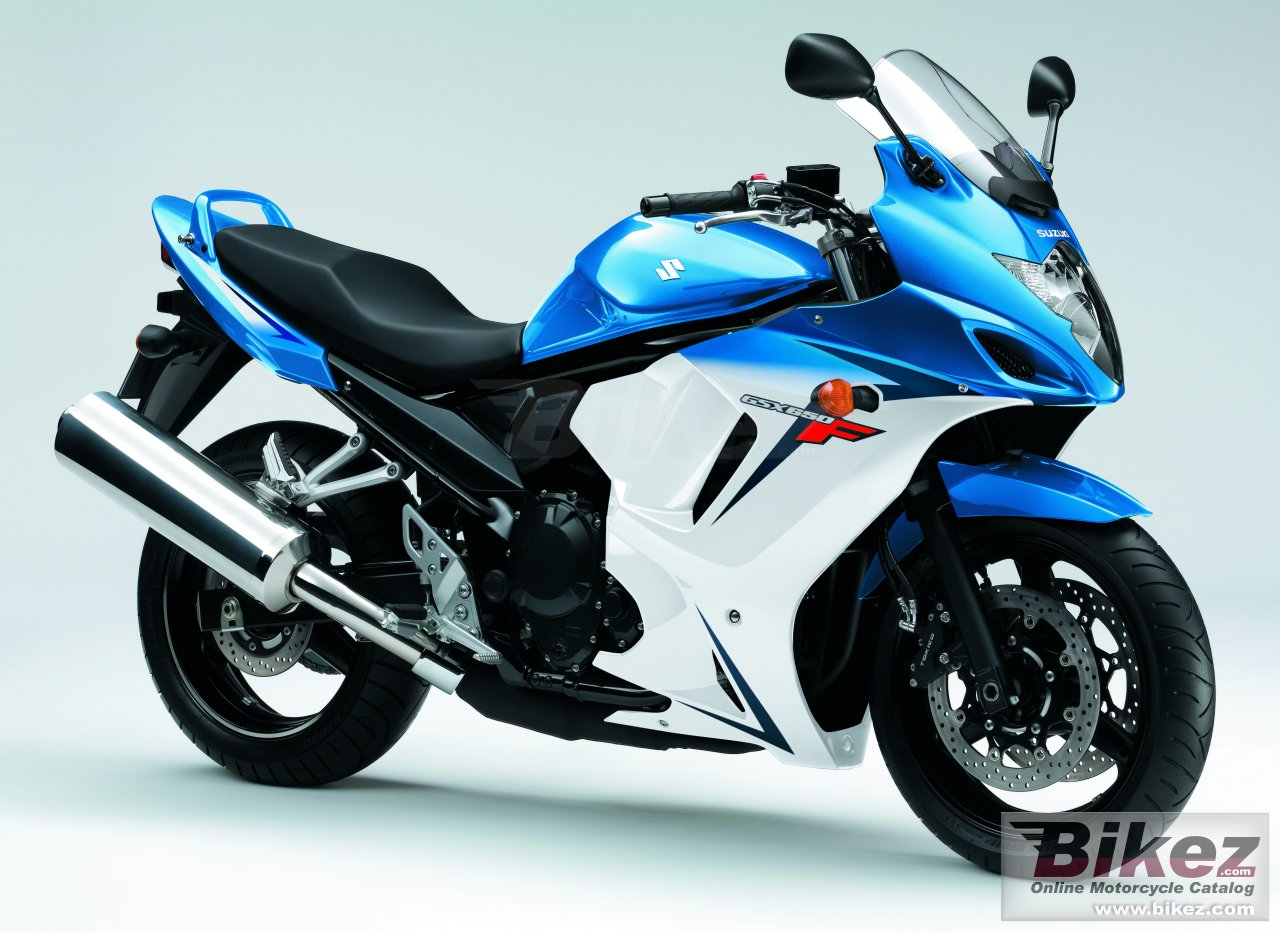 Big Suzuki gsx650f picture and wallpaper from Bikez.com
