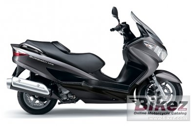 2012 Suzuki Burgman 125 photo