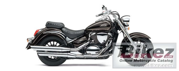 Big Suzuki intruder classic 400 cast wheel picture and wallpaper from Bikez.com