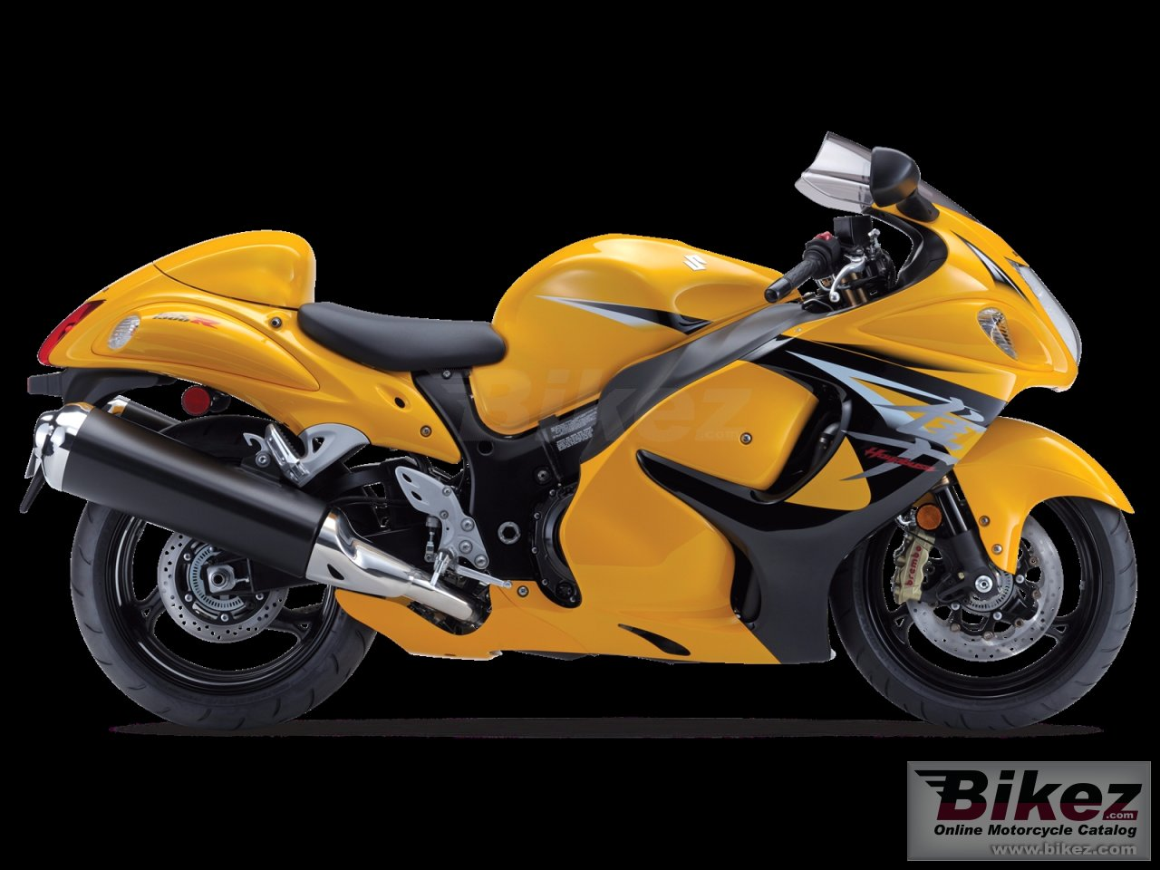 Big Suzuki hayabusa limited edition picture and wallpaper from Bikez.com