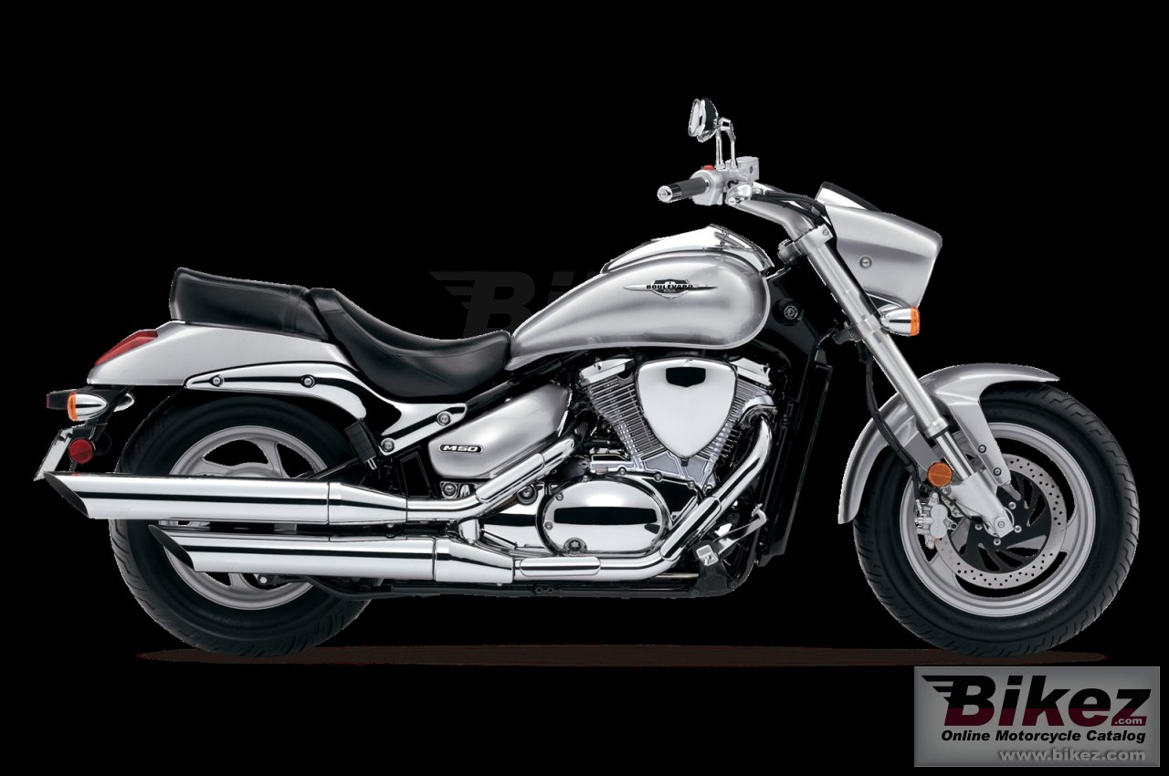 Big Suzuki boulevard m50 picture and wallpaper from Bikez.com