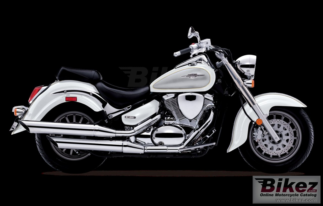 Big Suzuki boulevard c50 special edition picture and wallpaper from Bikez.com