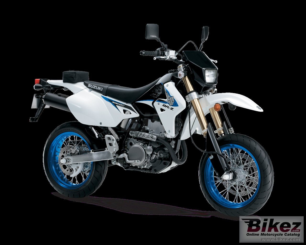 Big Suzuki dr-z400sm picture and wallpaper from Bikez.com