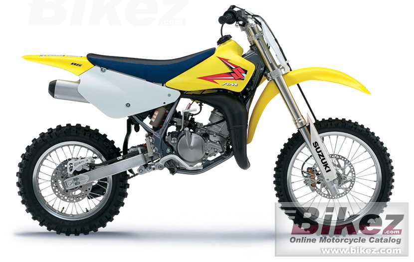 Big Suzuki rm85 picture and wallpaper from Bikez.com