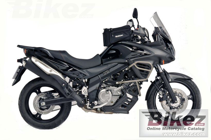Big Suzuki v-strom 650 abs tourer picture and wallpaper from Bikez.com