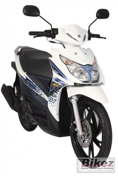2013 Suzuki Hyate 125 FI photo