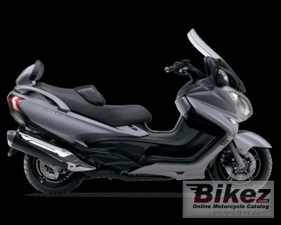 2013 Suzuki Burgman 650 ABS Executive