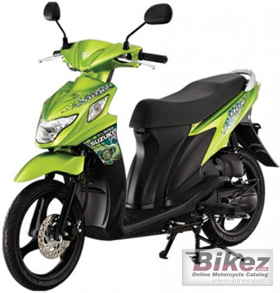 2014 Suzuki Nex 115 photo
