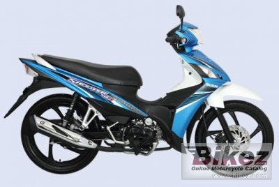 2014 suzuki shooter 115 fi specifications and pictures