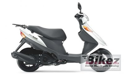 2016 Suzuki Address V125 Fuel Injection