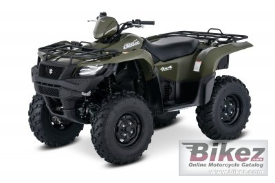 2017 Suzuki KingQuad 750AXi specifications and pictures