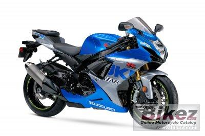 2021 Suzuki GSX-R750 Anniversary