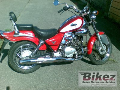 2001 Sym Husky 125 photo