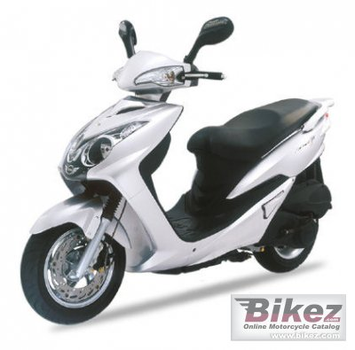 2007 Sym VS Excel II 125 cc photo