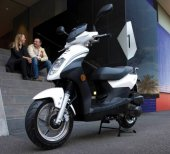 2008 Sym Orbit 50 photo