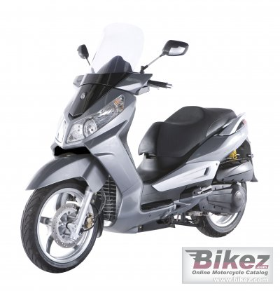 2008 Sym Citycom 300i specifications and pictures