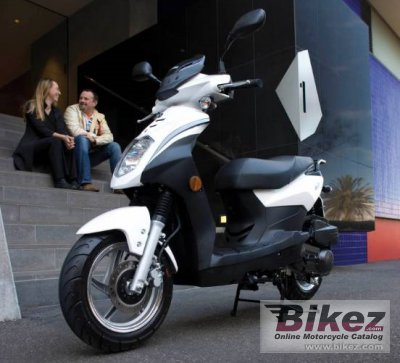 2008 Sym Orbit 50