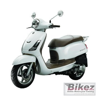 2010 Sym Fiddle II 125