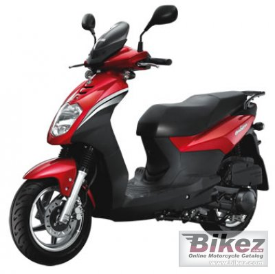 2011 Sym Orbit 125