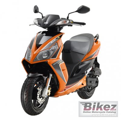 2012 Sym Jet SportX-SR 50 photo