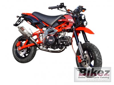 2012 Tiger KickAss 125 specifications and pictures