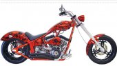 2008 Titan Sidewinder Custom Softail Chopper