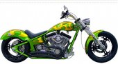 2008 Titan Sidewinder Custom Pro Street Softail photo