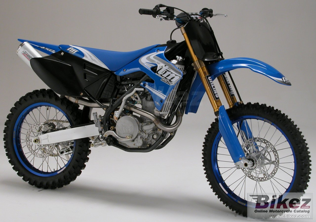 Big TM racing mx 450 f picture and wallpaper from Bikez.com