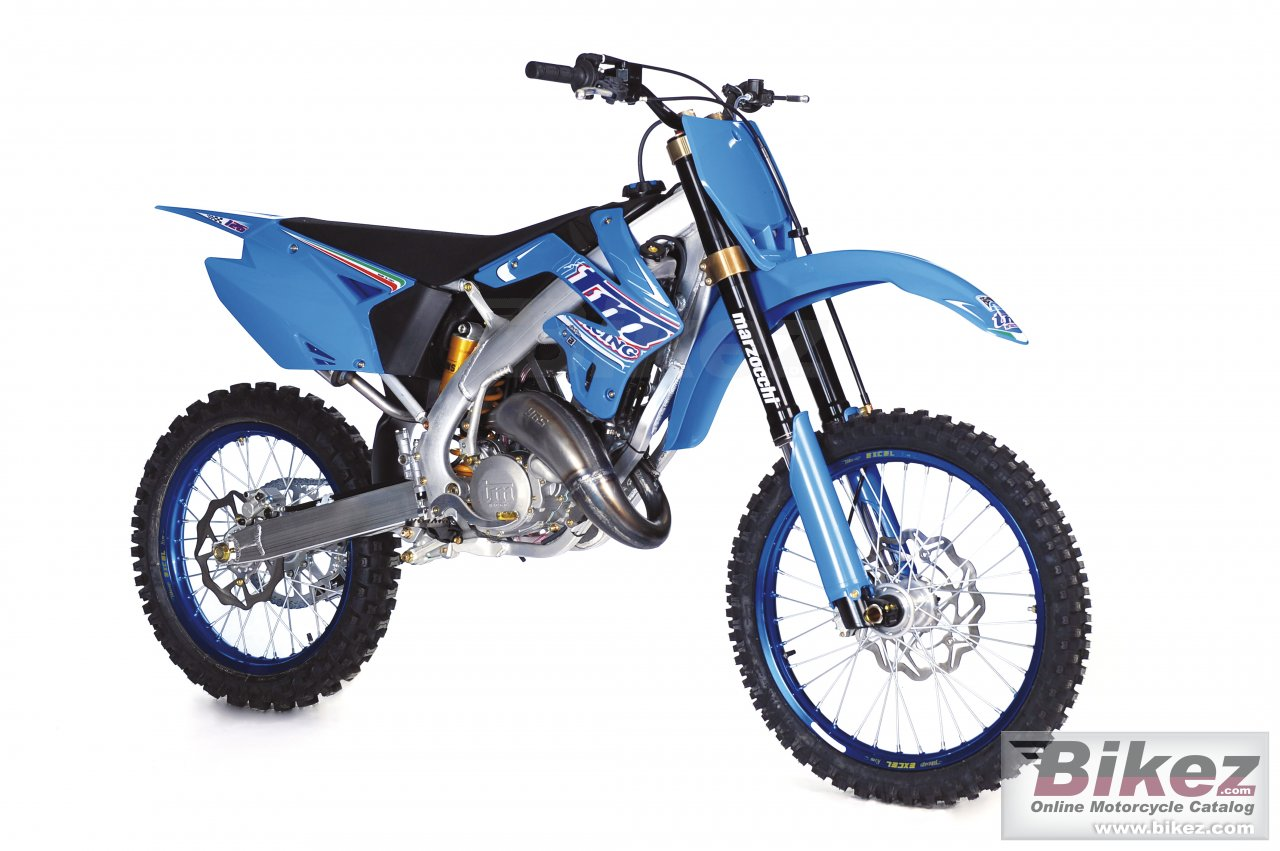 Big TM racing mx 125 picture and wallpaper from Bikez.com