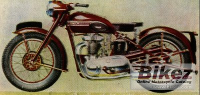 1937 Triumph Speed Twin Specifications And Pictures