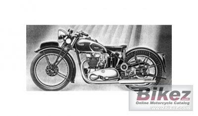 1940 Triumph Speed Twin 5T