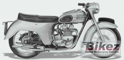 1957 Triumph 3TA
