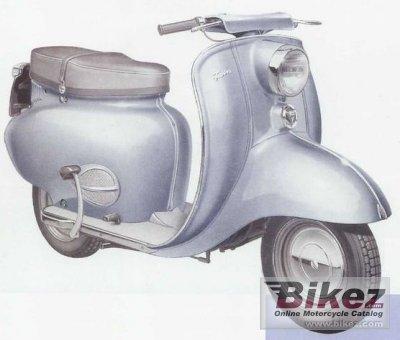 1958 Triumph Tigress 250