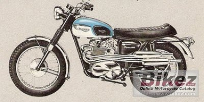 1959 Triumph T100C