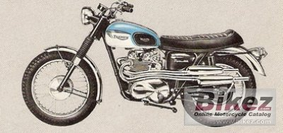 1961 Triumph T100C