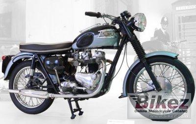 1962 Triumph T120 C Bonneville