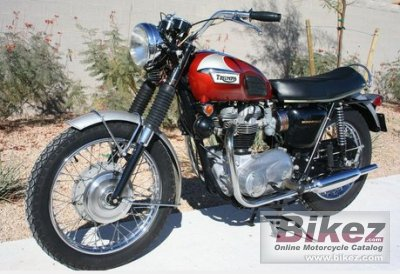1968 Triumph Bonneville T120r Roadster Specifications And Pictures