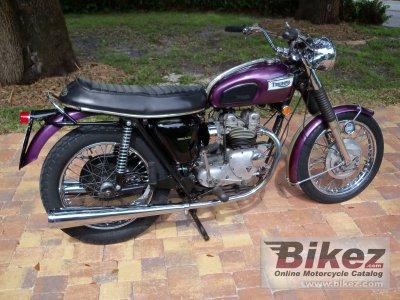 1969 Triumph T100C