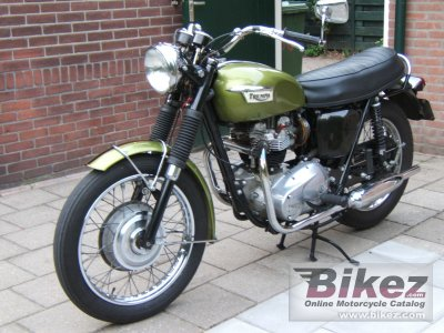 1970 Triumph Trophy 650 photo