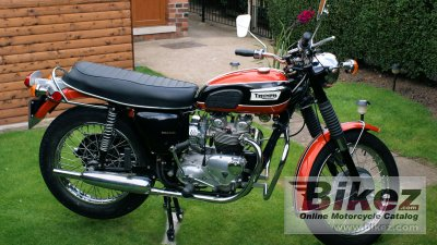 1970 Triumph Tiger Daytona photo