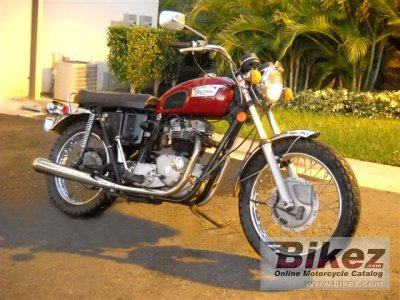 1971 Triumph TR 6 R Tiger 650 photo