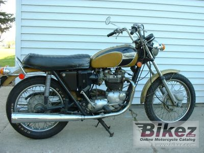 1971 Triumph T 120 R Bonneville 650 specifications and pictures