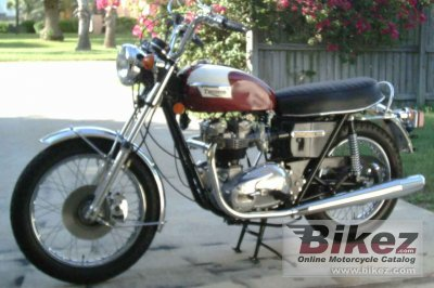 1976 Triumph T 140 V Bonneville photo