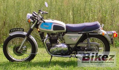 1977 Triumph T140 V Bonneville SIlver Jubilee photo