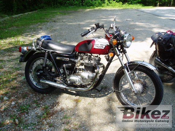 1978 Triumph T 140 V Bonneville photo