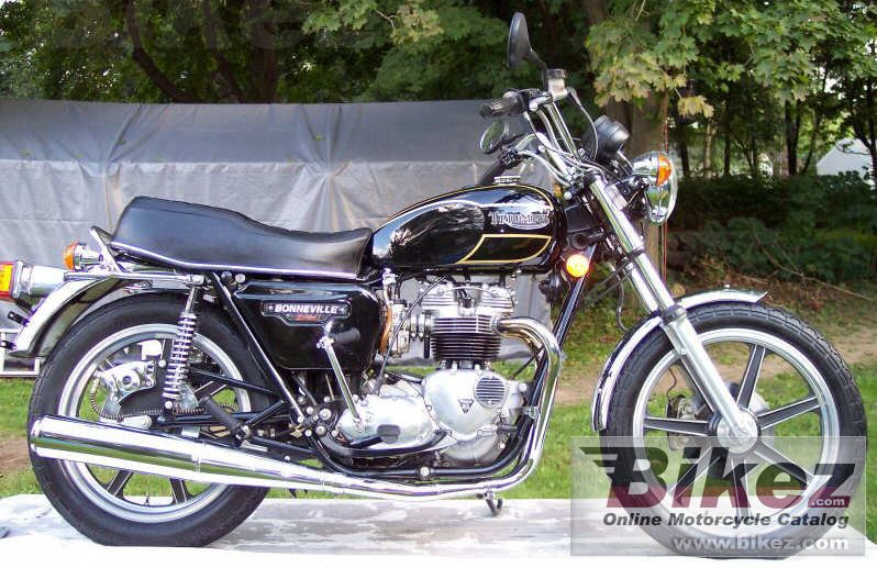 nymous user. t 140 v bonneville special