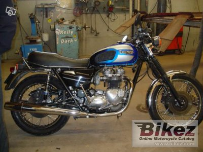 1987 Triumph Bonneville photo