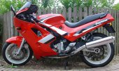 1991 Triumph Daytona 750 (reduced effect) photo