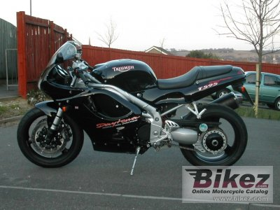 1997 triumph daytona t595 specifications and pictures